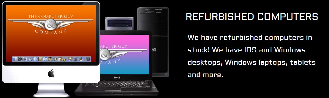 Refurbished Computers For Sale